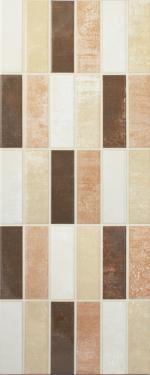 Cream Mixed Mosaic Gloss Tiles