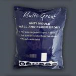 Dark Grey Antracite Anti-Mould Tile Grout 3kg