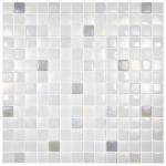Ice White Mosaic Tiles