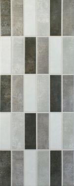 Grey Mixed Mosaic Gloss Tiles