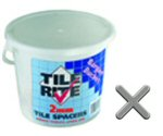 Bucket 2mm spacers for tiles