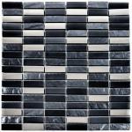 Argent Night Brick Mix Tiles