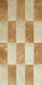 Tan Mix Gloss Mosaic Marble Effect Tiles