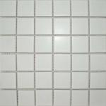 Matt White Square Large Tiles