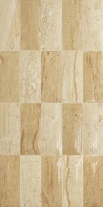Cream Gloss Mix Mosaic Marble Effect Tiles