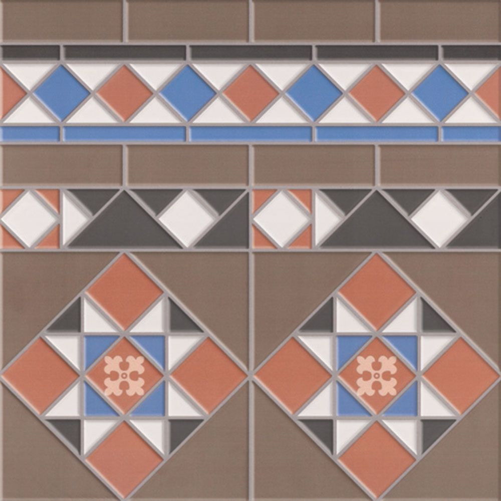 Kensington Border Tiles