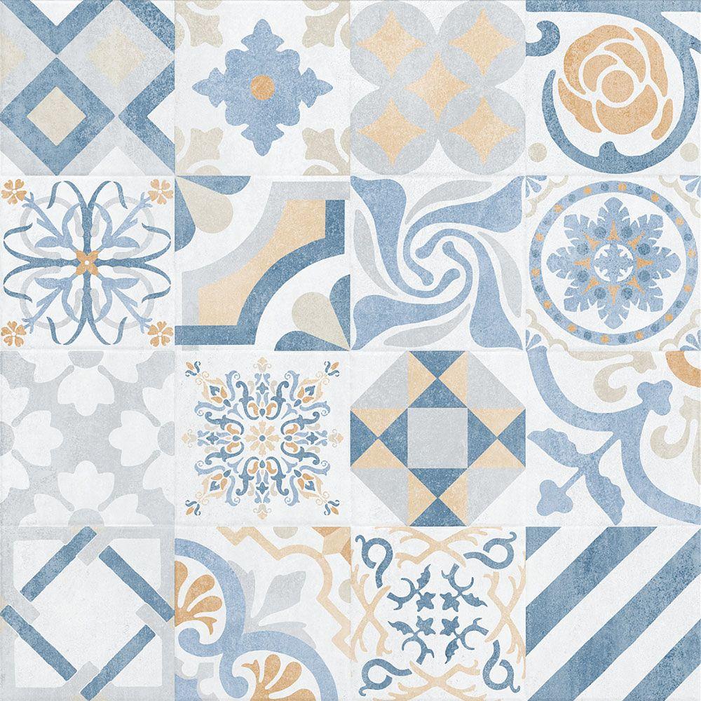 Dusted Ornamental Decor Tiles