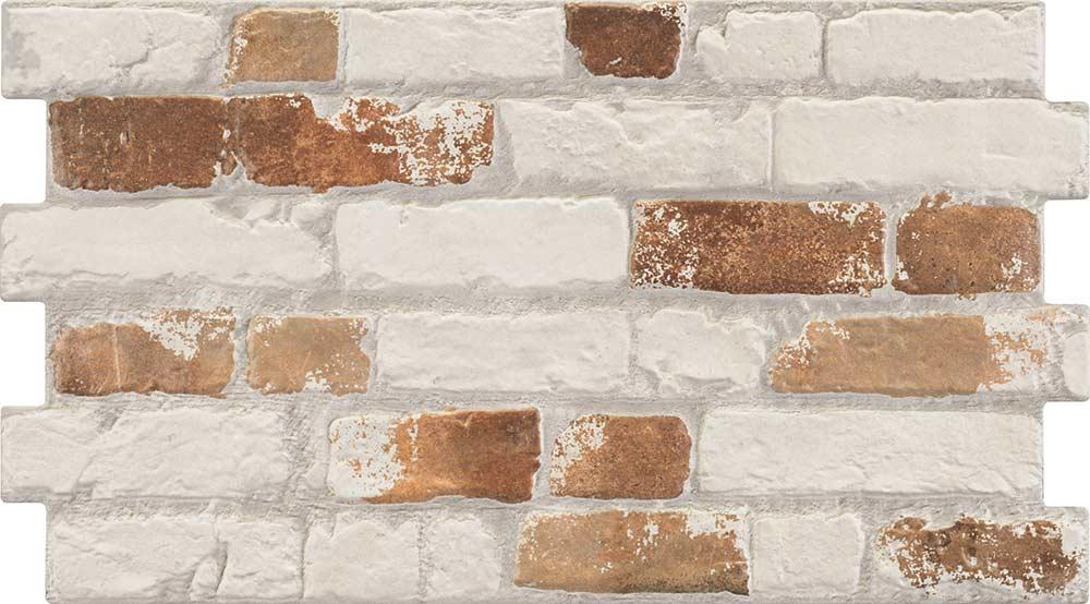 Archaic Painted Brick Effect Tiles