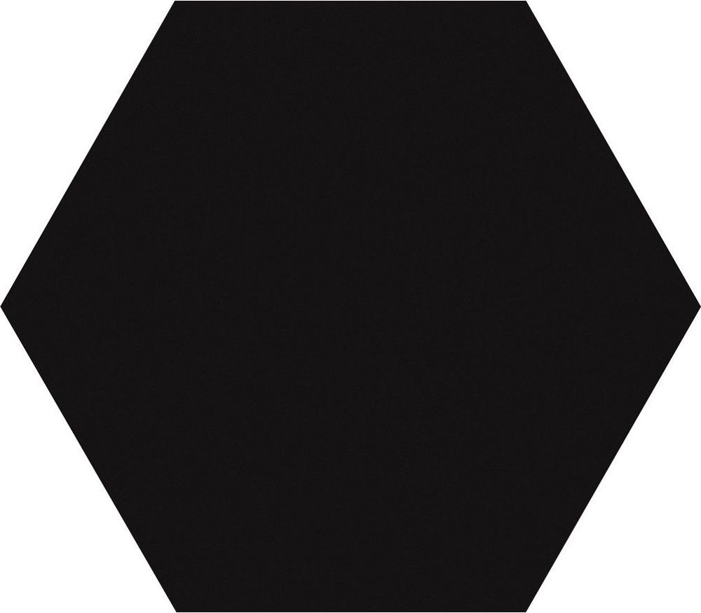 Black Matt Hexagon Tiles
