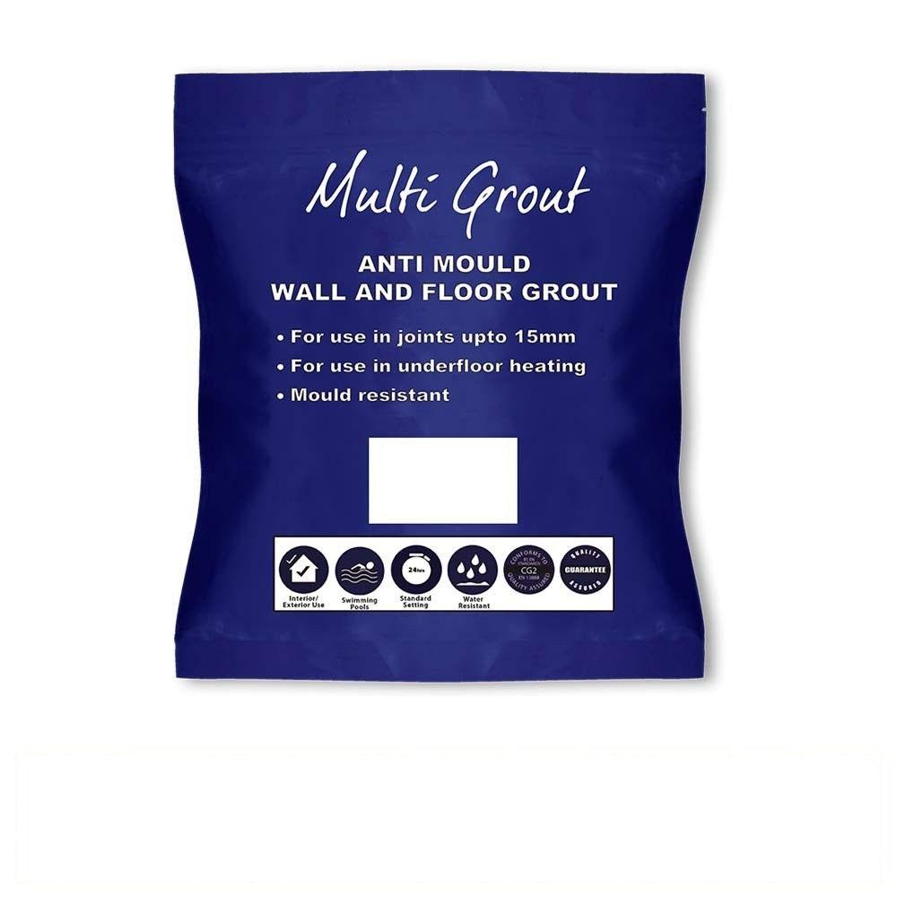 White Anti-Mould Tile Grout 3kg