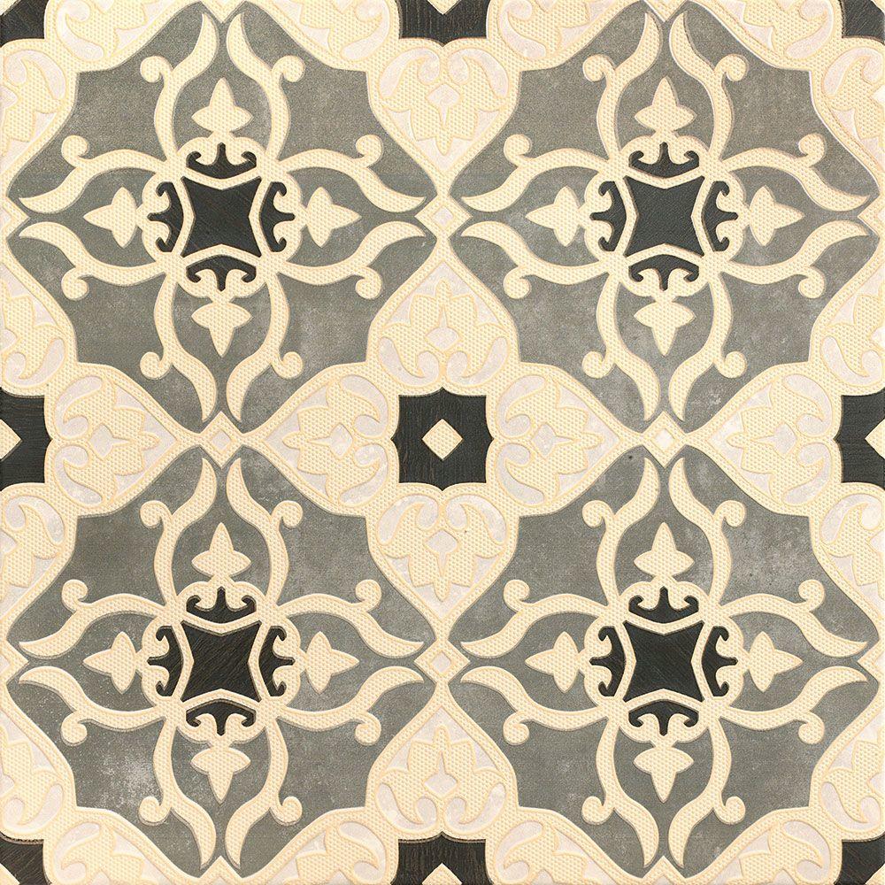 Fiore Decor Grey Tiles