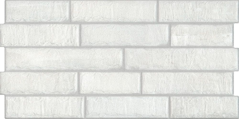 White Brick Effect Tile