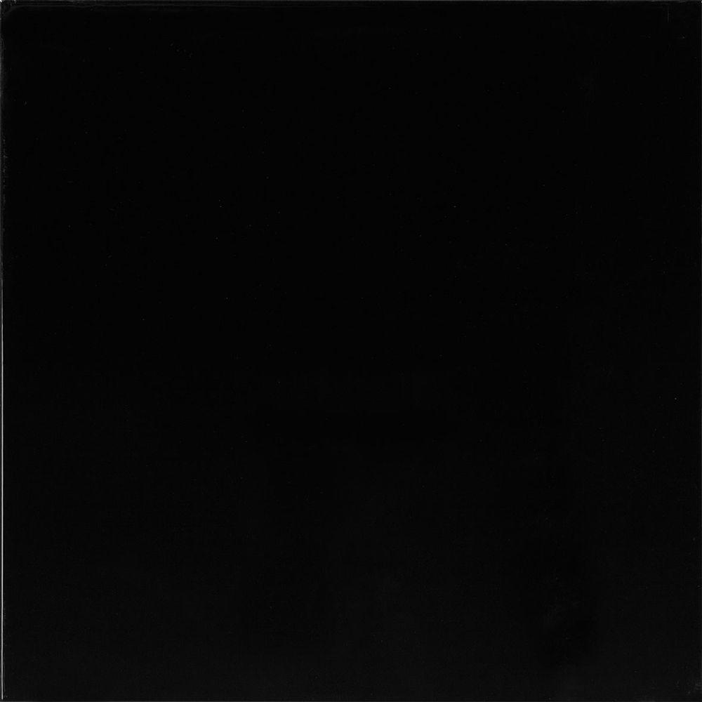 High Gloss Ebony Black Tile