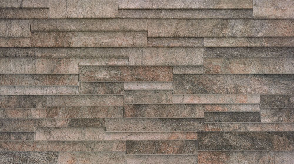 Marron Cladding Effect Tile