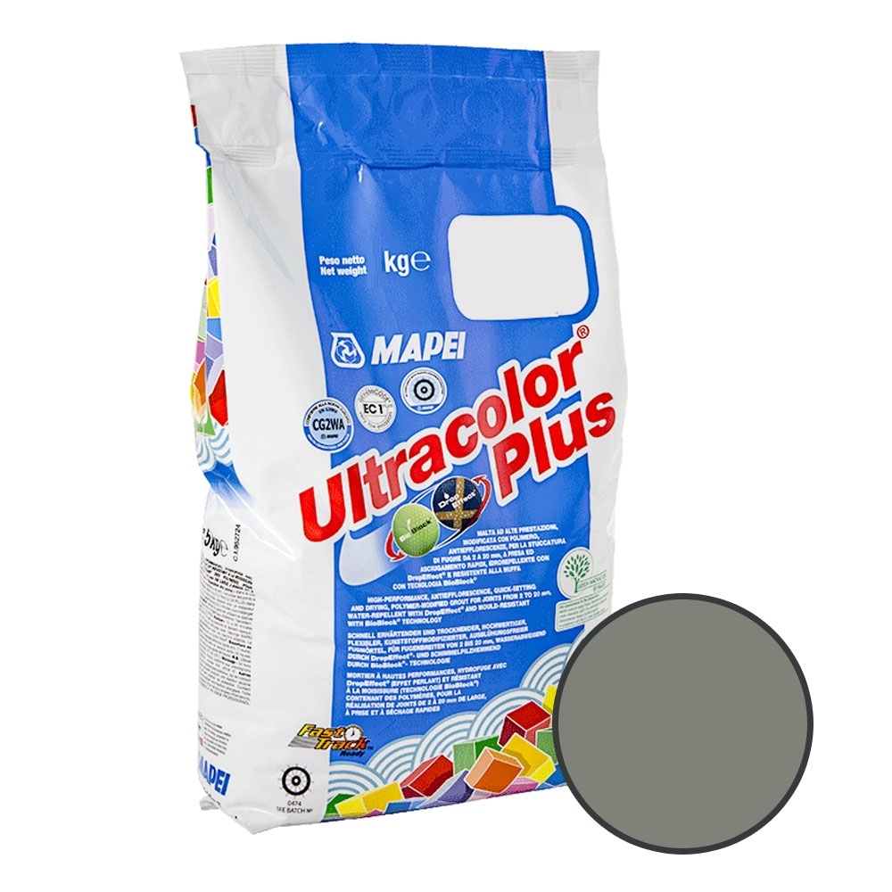 Ultracolour Plus 113 Cement Grey Tile Grout