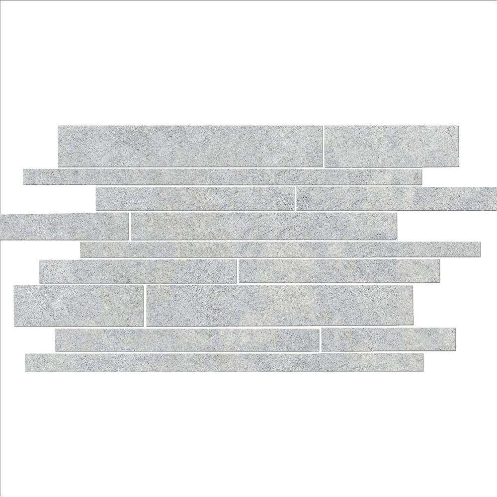 Fog Random Linear Strip Mosaic Tiles