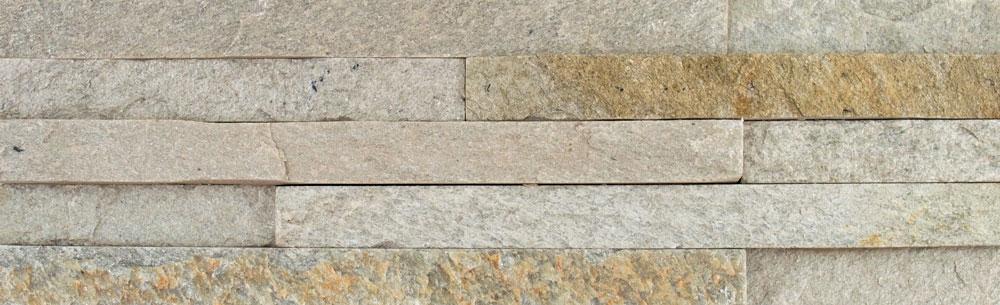 Ledgestone Indian Green Split Face Tiles