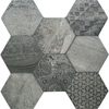 Ruvido Tribal Stone Hexagon Tiles