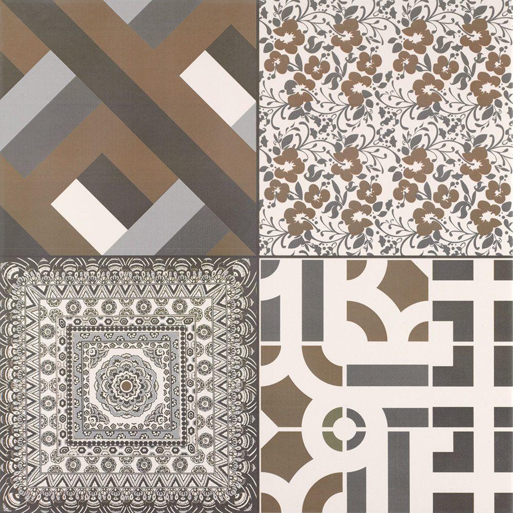 Azulejo Monotone Pattern Tiles