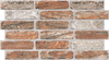 Rich Brick Slip Effect Tiles