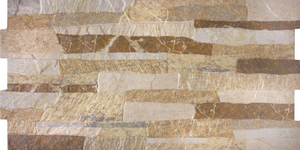 Beige Stone Effect Tiles