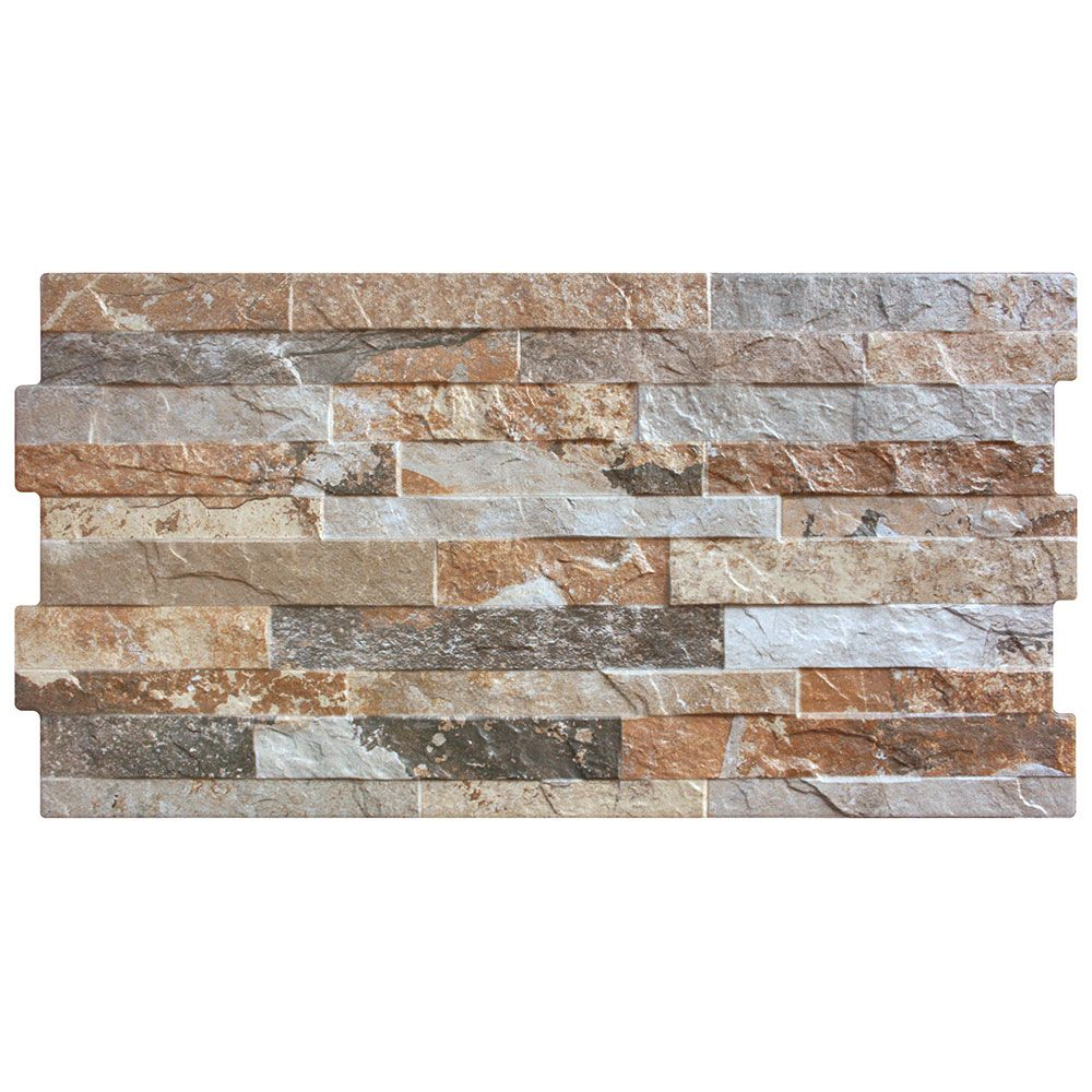 Light Rustic Split Face Effect Tiles
