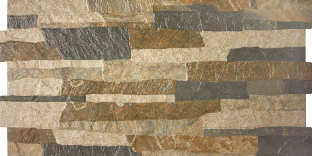 Multi Colour Stone Effect Tiles