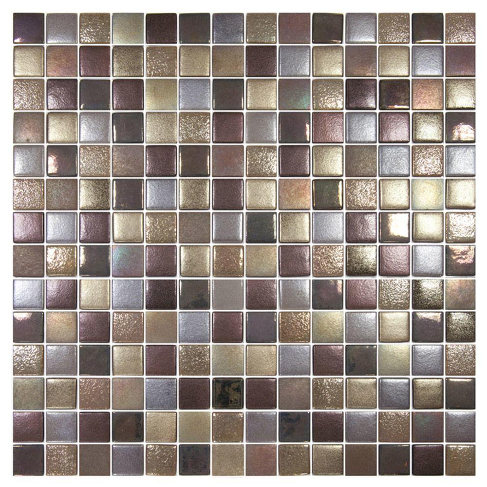 Mix Brown Mosaic Tiles