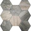 Ruvido Woodland Hexagon Tiles