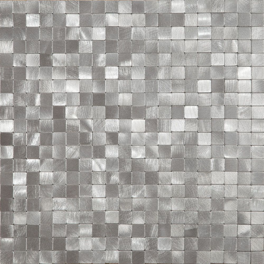 Platinum Mini Mosaic Tiles