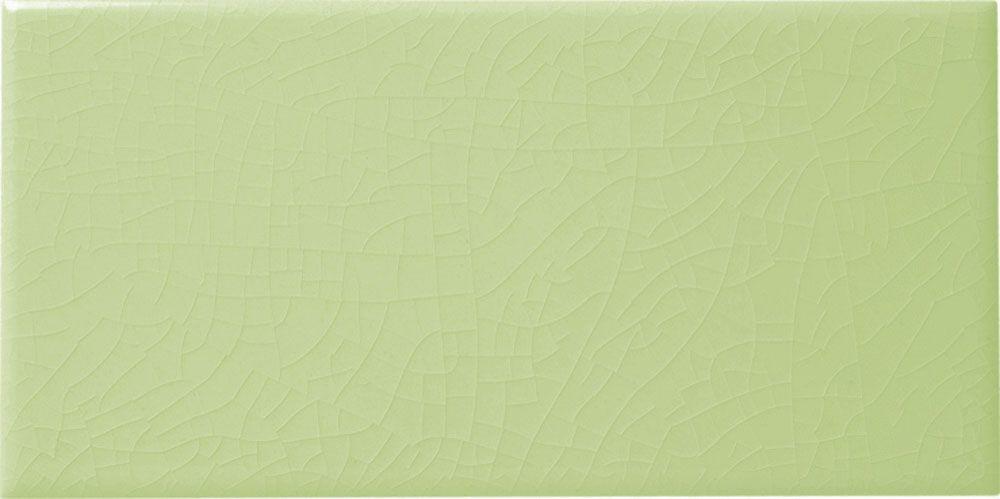 Le Vert De Maisons Green Crackle Metro Tiles