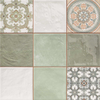Jamilia Mint Decor Tiles