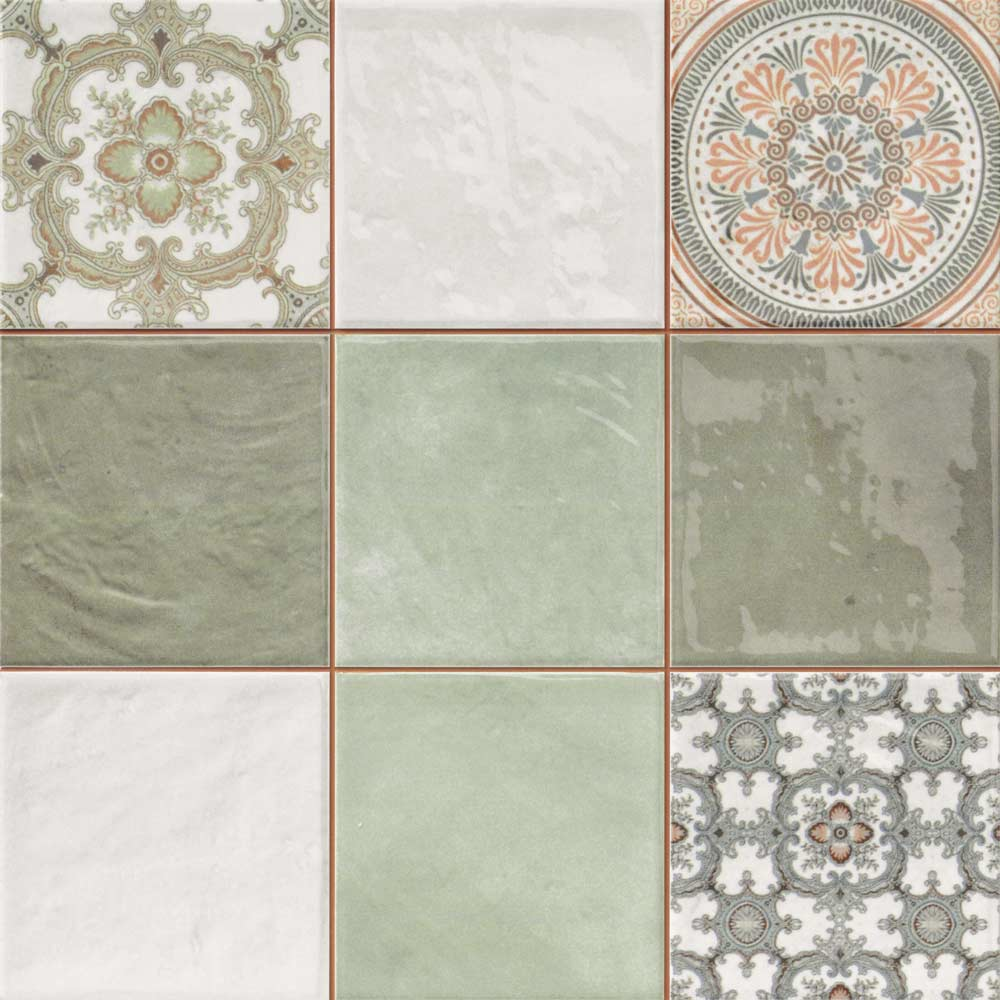 Mint Decor Tiles