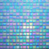 Aqua Iridescent Mosaic Tiles