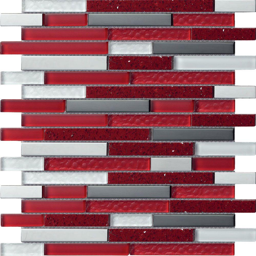 Planet Mars Mosaic Tiles