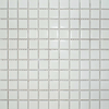 Gloss White Square Small Mosaic Tiles