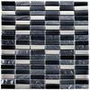Regalio Argent Night Brick Mix Mosaic Tiles