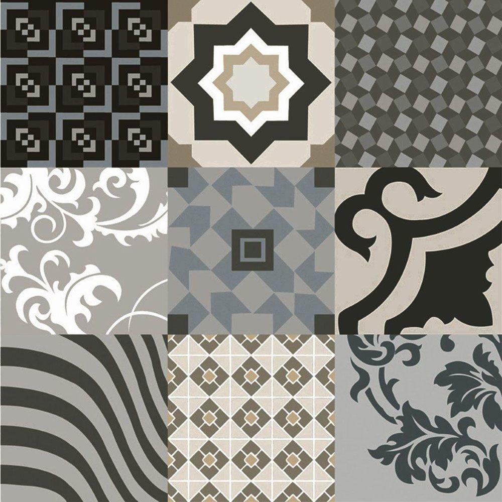 Geometric Decor Polished Tiles