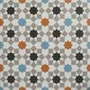 Harika Renkli Geometric Pattern Tiles Style 2