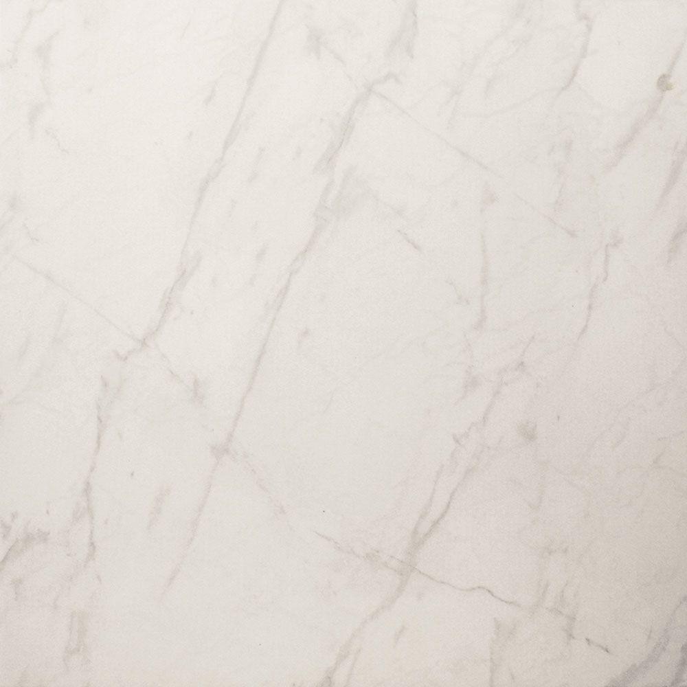White Gloss Marble Effect Floor Tiles