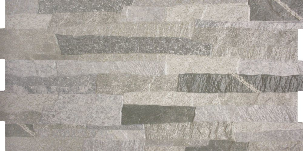 Grey Stone Effect Tiles