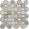 Summer Grey Octagon Tiles