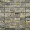 Quartzite Green Brick Mosaic Tiles