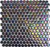 Circular Luster Mosaic Tiles