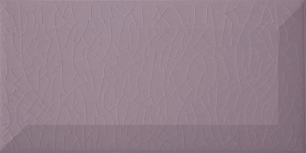 Madeleine Purple Crackle Metro Tiles