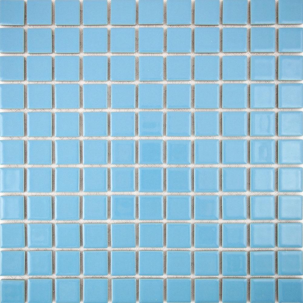 Gloss Sky Blue Tiles