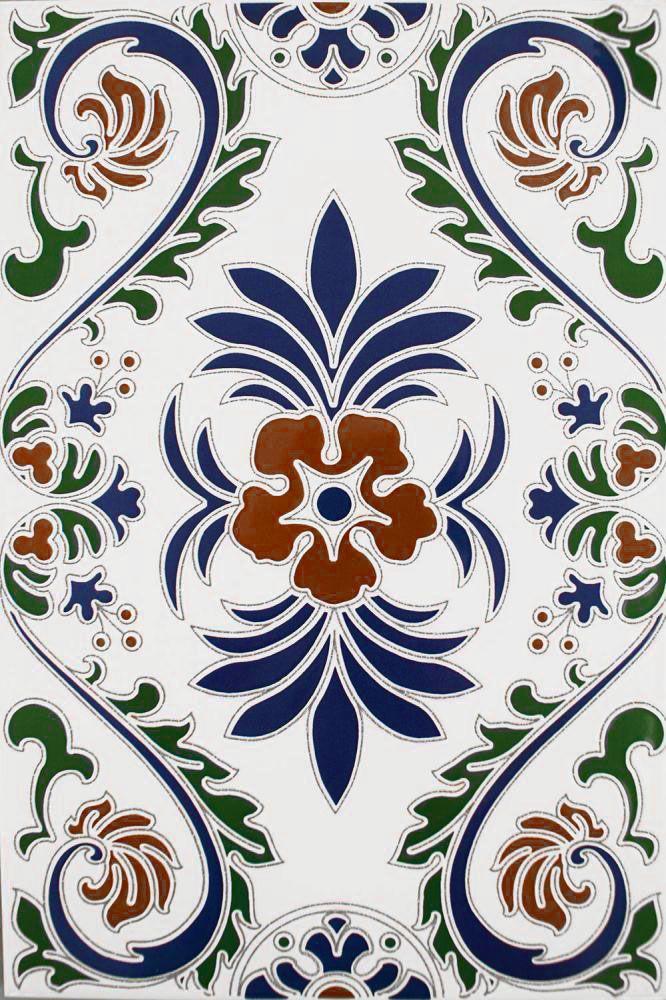 Granada Decorated Field Tiles
