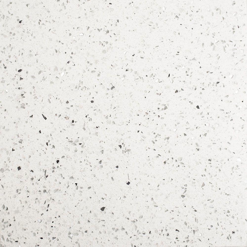 White Sparkle Quartz Tiles