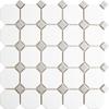 Grey Octagon Mosaic Tiles