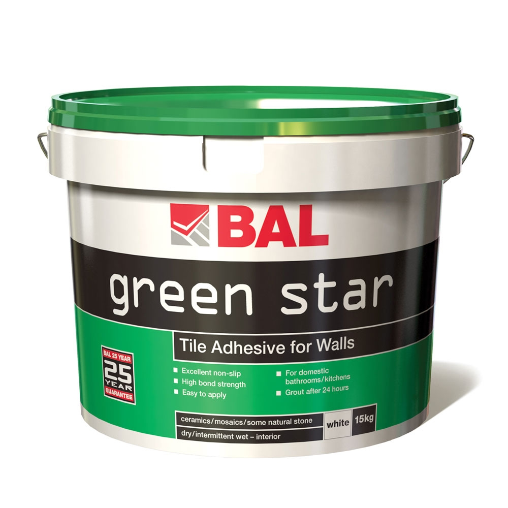 Green Star Wall Tile Adhesive